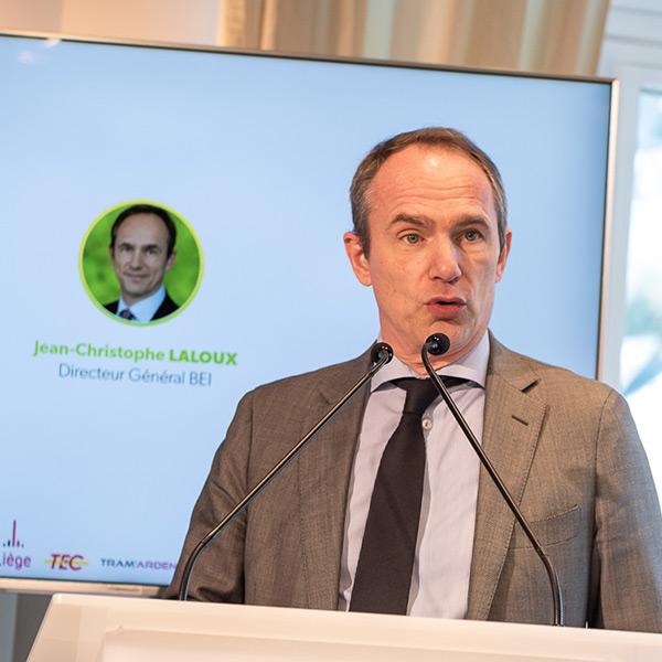 Jean-Christophe LALOUX, Directeur général de la Banque Européenne d'Investissement