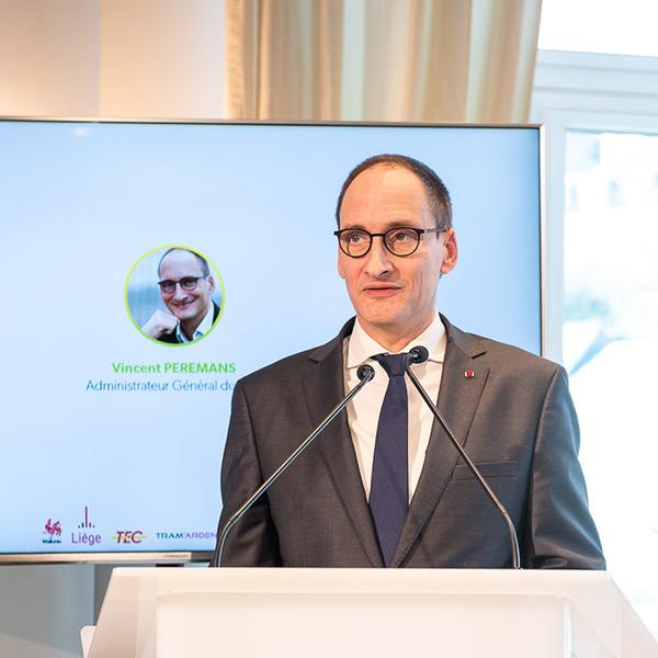 Vincent Peremans, Administrateur général du TEC